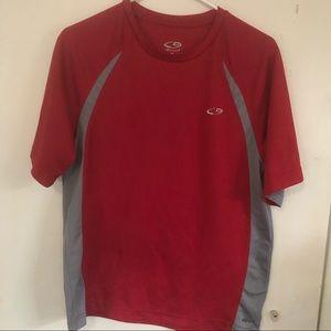 Champion duo dry shirt size M